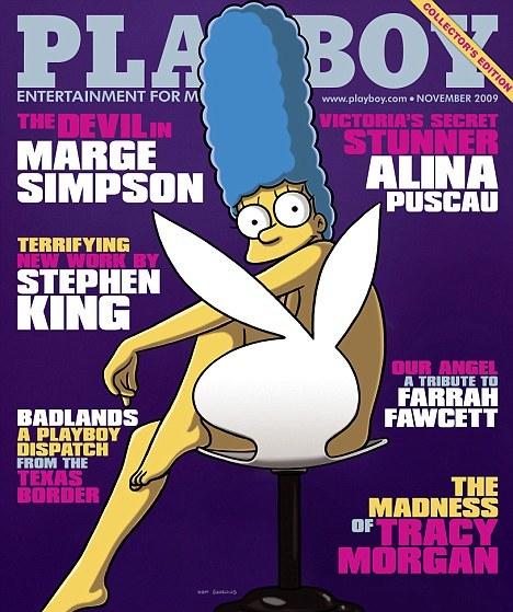 Playboy pin-up